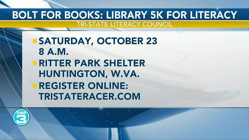 Bolt for Books: Library 5k for Literacy