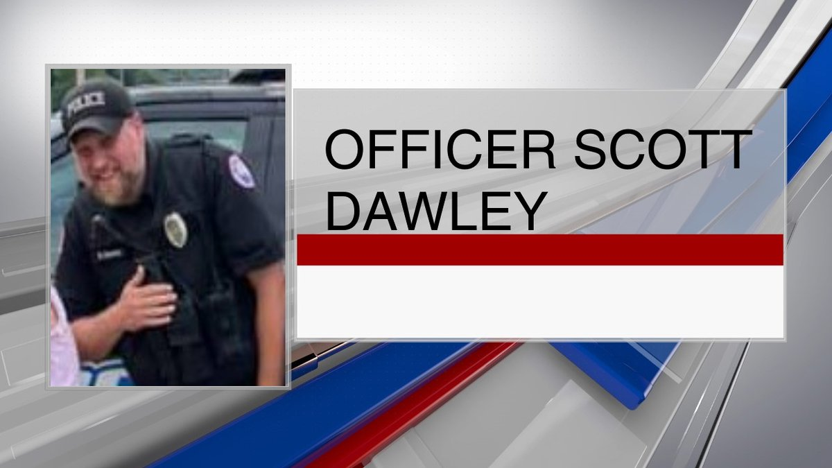 Nelsonville Police Officer Scott Dawley died Tuesday in a car accident on his way to a...