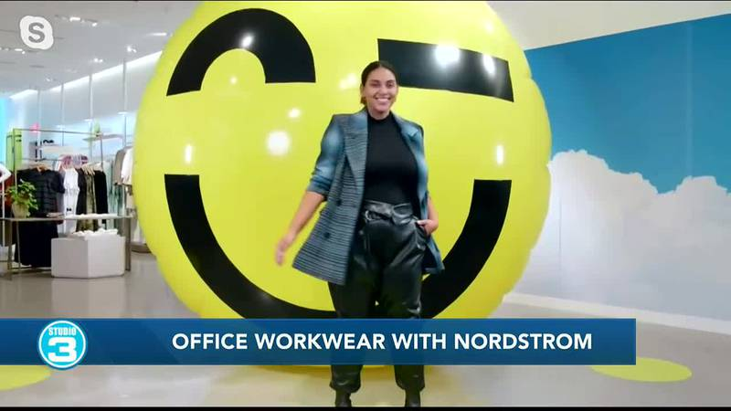 Office workwear with Nordstrom