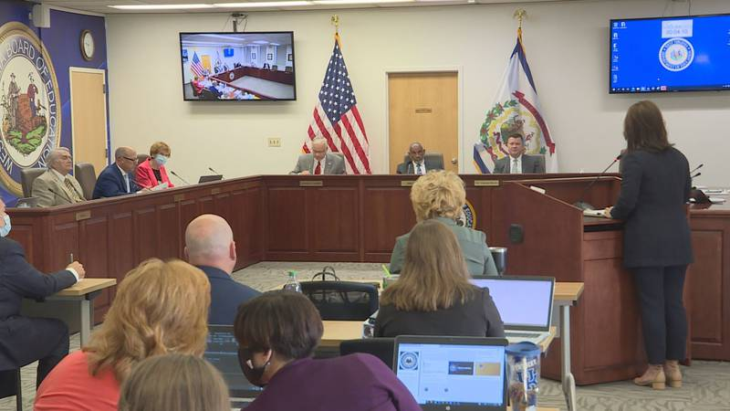 West Virginia Board of Education discusses its COVID-19 mitigation strategies.