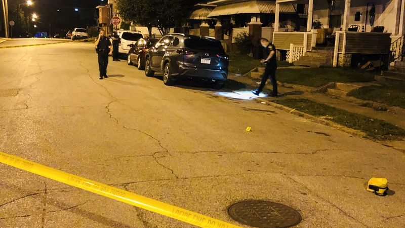 The shooting happened just before 3 a.m. on Glenwood Ave.