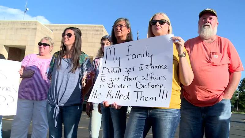 Relatives of the victims say the convicted man getting a weekend out of jail feels like an...
