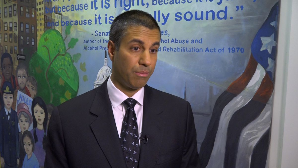 FCC Chairman Ajit Pai on Tuesday discusses how he and the Commission plan to explore the creation of a suicide prevention hotline. (Source: Gray DC)