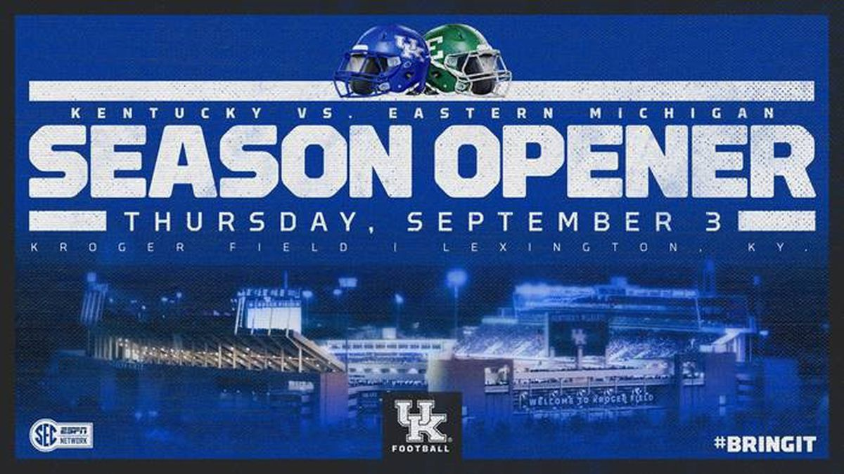 Kentucky Moves Season Opener To September 3rd To Avoid Conflict With Kentucky Derby