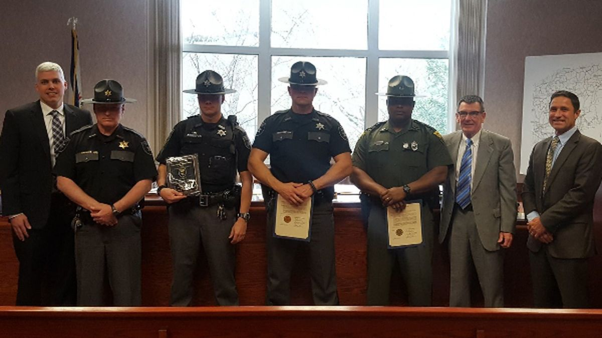 Putnam County Deputy Honored For Most DUI Arrests In 2017