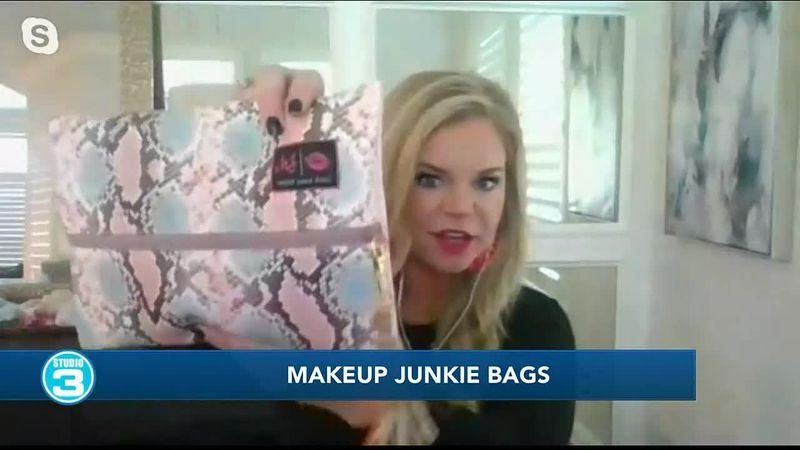 Makeup Junkie Bags on Studio 3