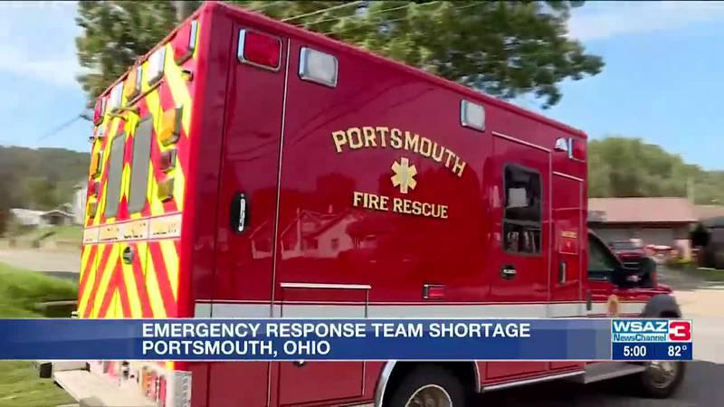 Portsmouth firefighter shortage