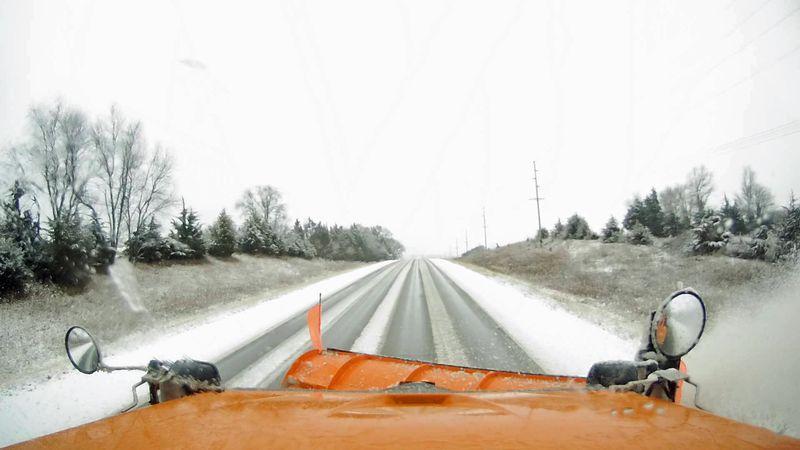 Slushy, slick roads anticipated on Monday night-Tuesday