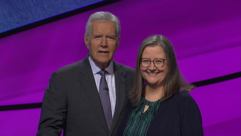 Local woman reflects on her experience on 'Jeopardy!'