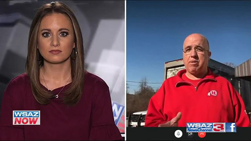 Hurricane Mayor Scott Edwards joins the WSAZ Now Desk with details on the city's Christmas...