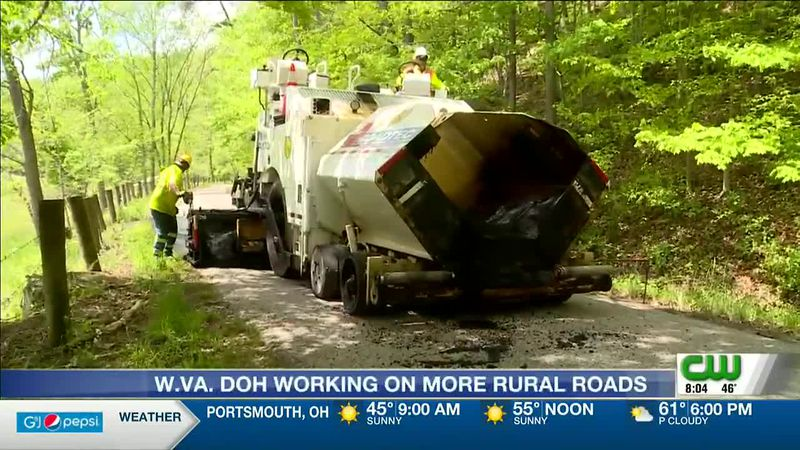 West Virginia DOH to work on more rural roads with new equipment
