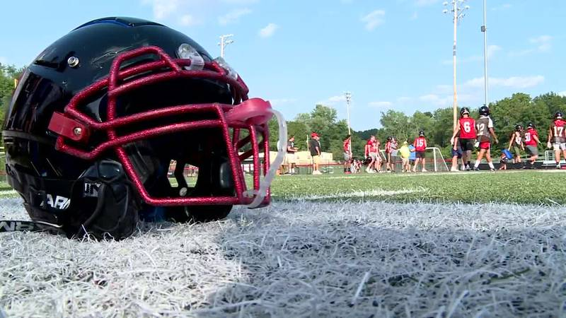 Teams changed their practice routines Tuesday in an effort to keep players from overheating.