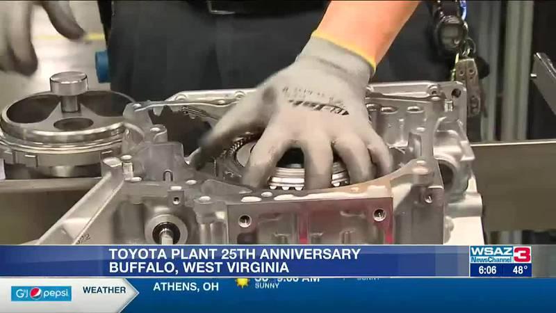Toyota Buffalo plant celebrates 25 years