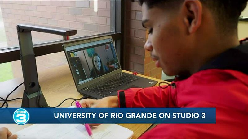 University of Rio Grande shares exciting news on Studio 3
