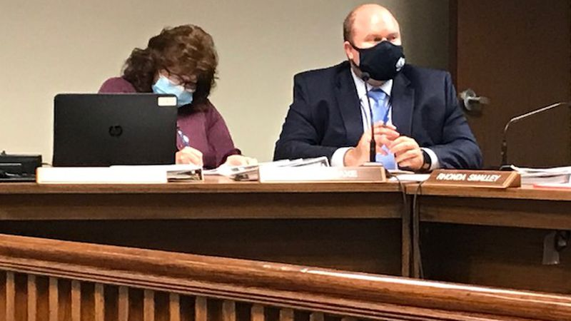The Cabell County school board voted to put a blended plan in place starting Jan. 20.