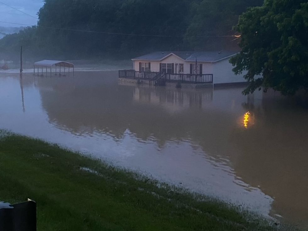 Severe flooding has hit parts of Lincoln County, including in the Hamlin area.