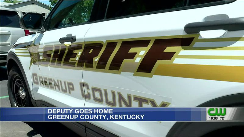 Deputy goes home after injury