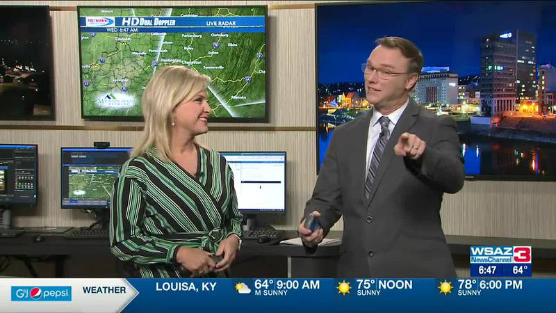 Brandon Butcher Delivers the First Warning Forecast for Wednesday, September 29th, 2021.