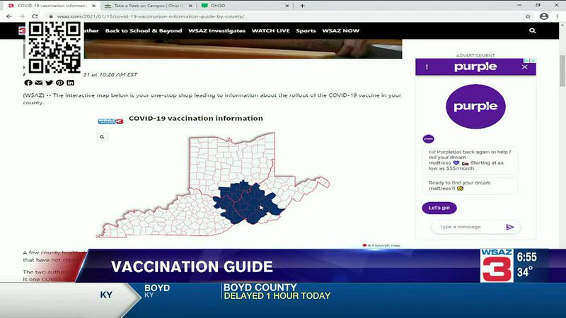 W.Va. vaccine rollout site opens at 8