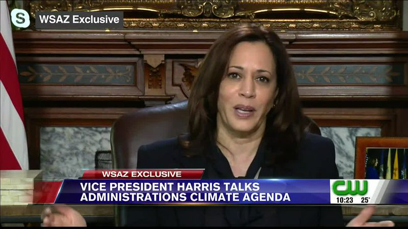 Vice President Kamala Harris sat down and spoke exclusively with WSAZ's Amanda Barren about a...