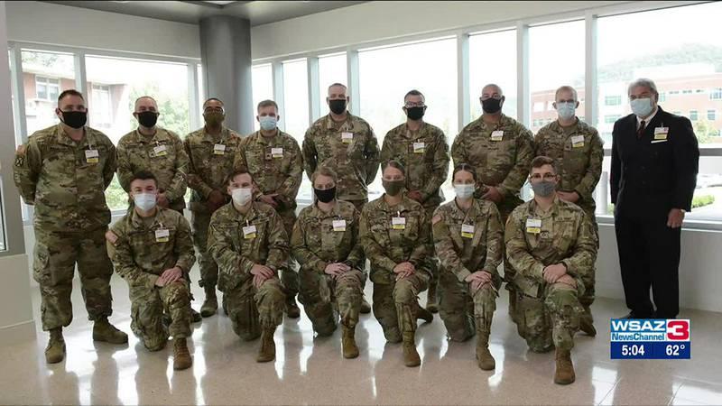 Kentucky National Guard easing strain on regional hospitals