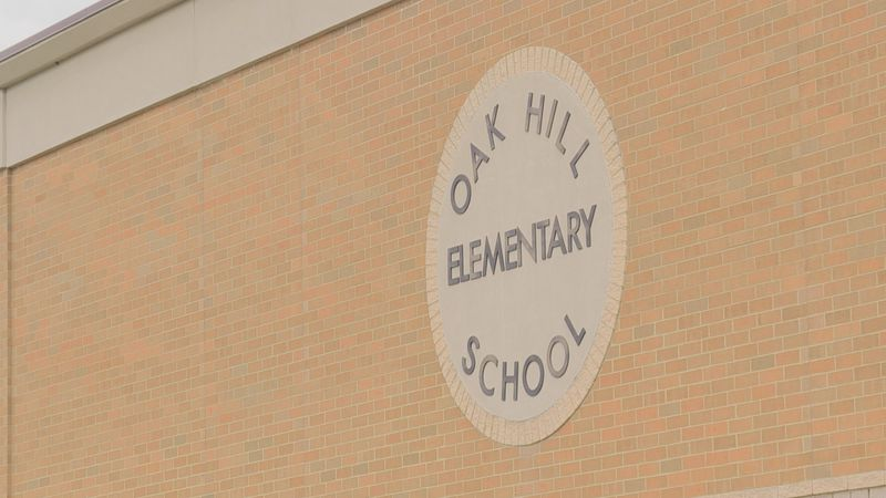 After being out of school for months, students at Oak Hill Elementary in Jackson County, Ohio,...