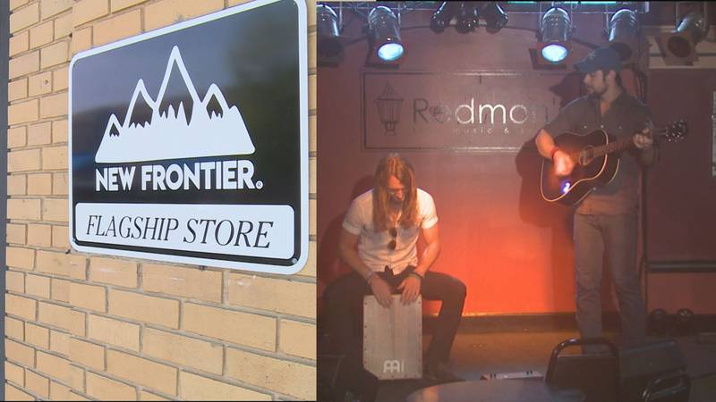 The owners of New Frontier Outfitters and Kentucky duo Sundy Best are teaming up for a Facebook...