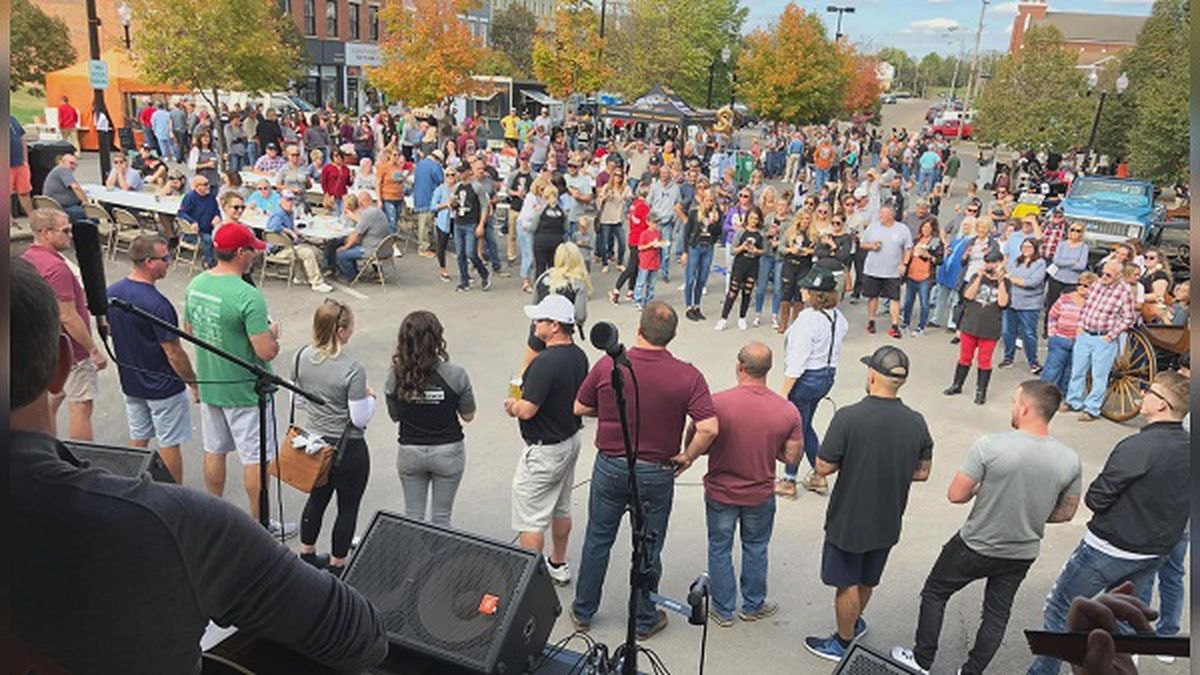 An image from the 2019 Final Friday concert series in Portsmouth.