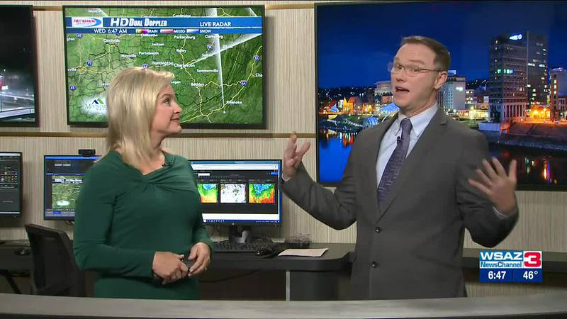 Brandon Butcher Delivers the First Warning Forecast for Wednesday, October 20th, 2021.