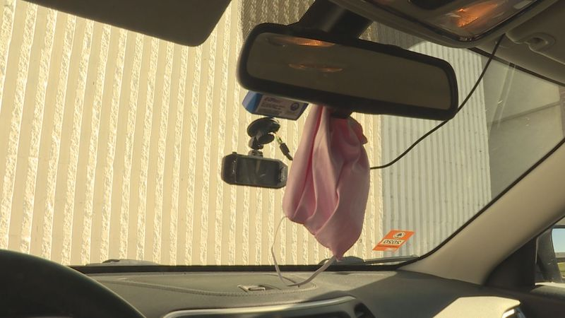 While it's important to keep a mask virtually everywhere, officials say the rearview mirror is...