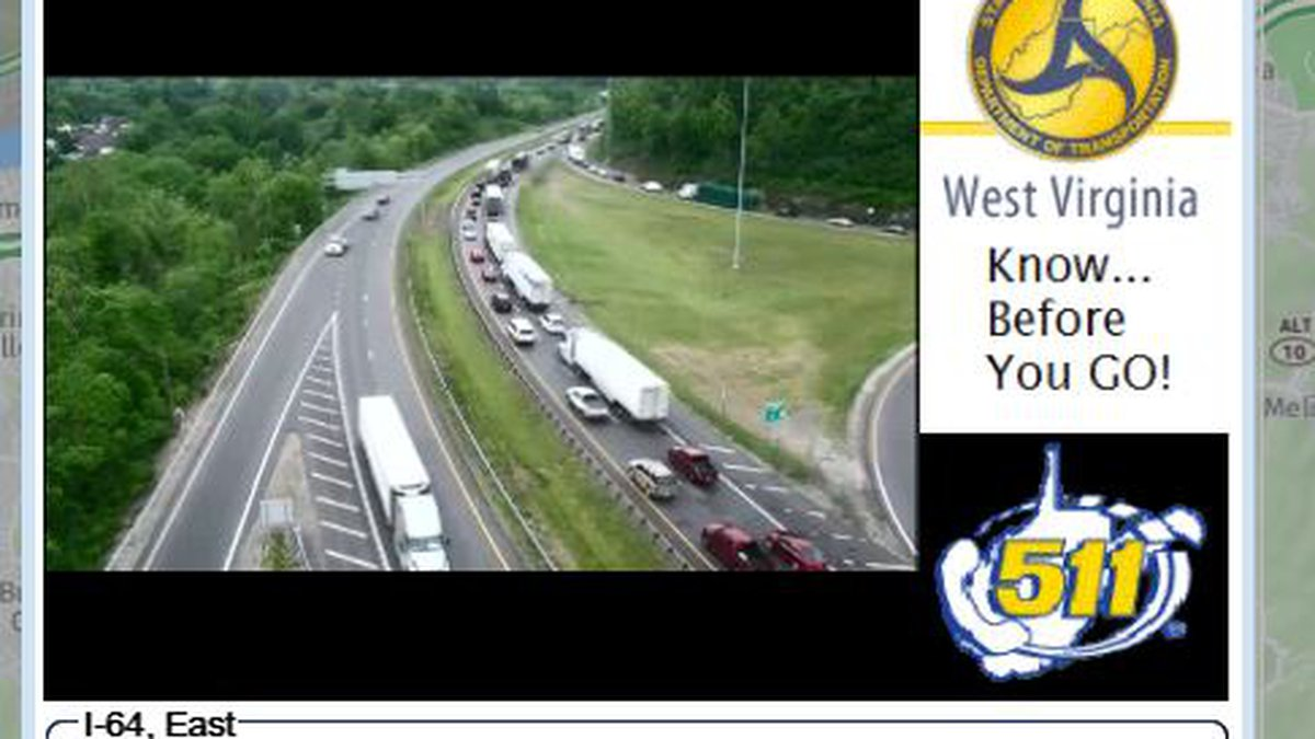 Crash caused delays on I-64 in Huntington