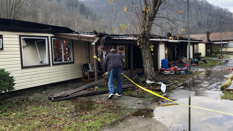 A 3-year old boy died early Tuesday morning in a fire at an apartment building near Man, W.Va. ...