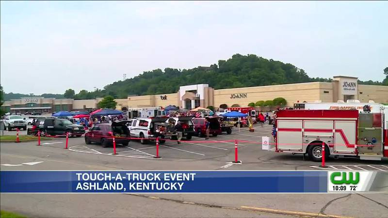 Touch-a-truck a hands-on learning experience