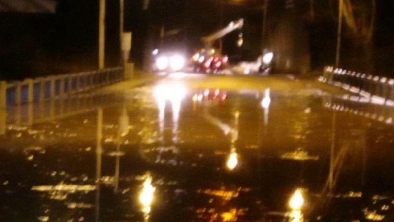 Floodgates are up in Ironton, Ohio