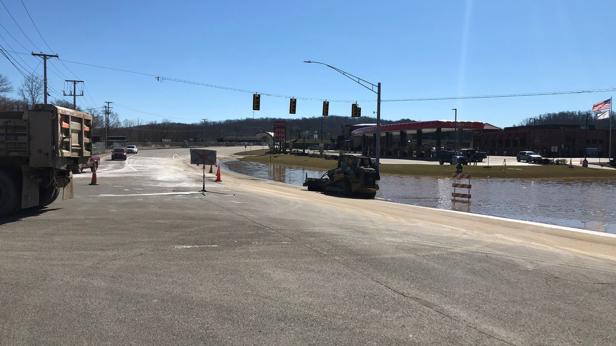 File photo: Portion of Route 60 had to be closed earlier this week due to high water. The road...
