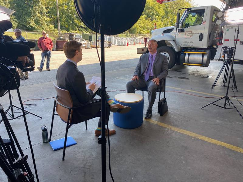 WSAZ's Brendan Tierney sits down for an exclusive interview with Appalachian Power President...