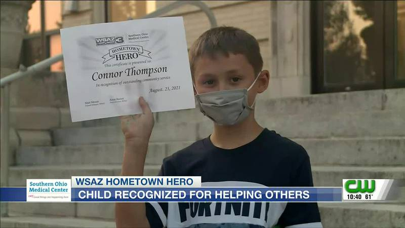 Hometown Hero   Connor Thompson Day recognizes child who helps others in foster care
