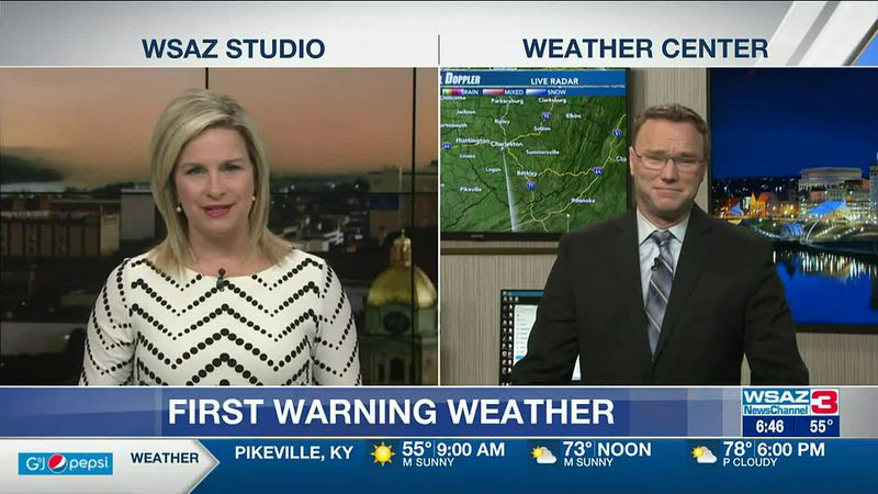 Brandon Butcher Delivers the First Warning Forecast for Wednesday, April 7th, 2021.