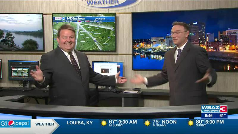 Brandon Butcher Delivers the First Warning Forecast for Thursday, July 22nd, 2021.