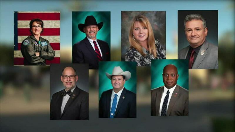 Arizona's legislative leadership are hearing calls that seven of their Republican colleagues be...