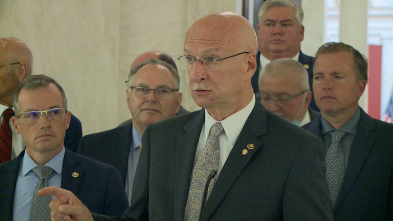 West Virginia Senate President Craig Blair voiced his opposition to President Joe Biden's...
