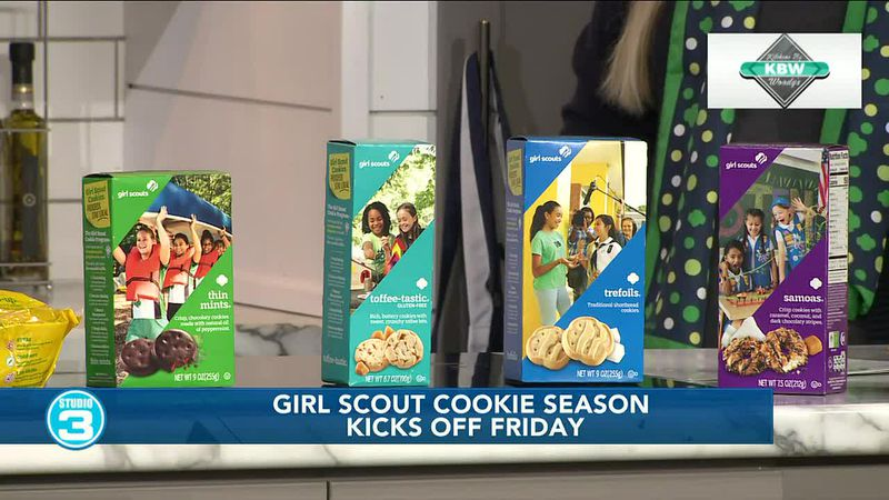 Girl Scout cookie season kicks off Friday
