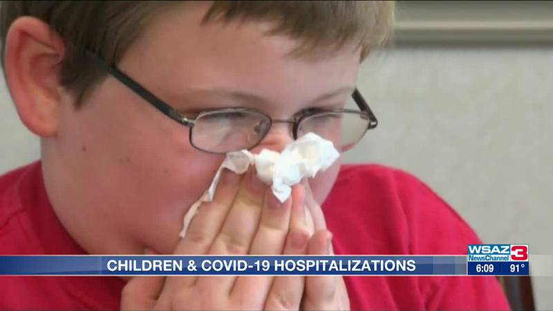 Share of Ohio children hospitalized for COVID-19 increasing with delta variant