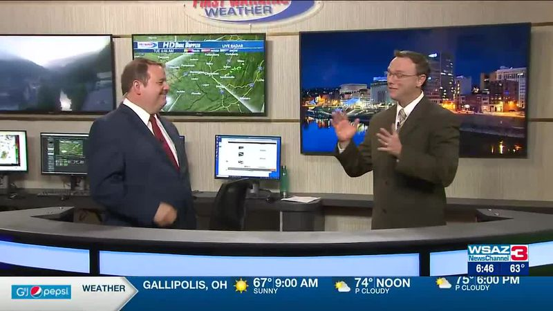Brandon Butcher Delivers the First Warning Forecast for Tuesday, June 15th, 2021.