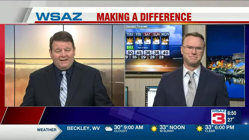 Brandon Butcher Delivers the First Warning Forecast for Tuesday, January 12th, 2021.