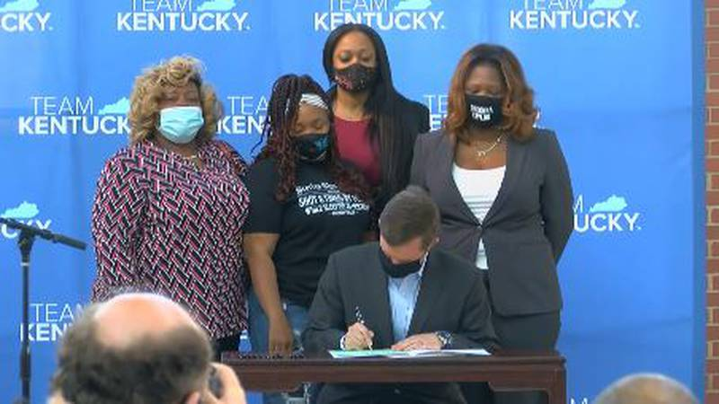 No-knock warrants are now partially banned in Kentucky after months of demonstrations...