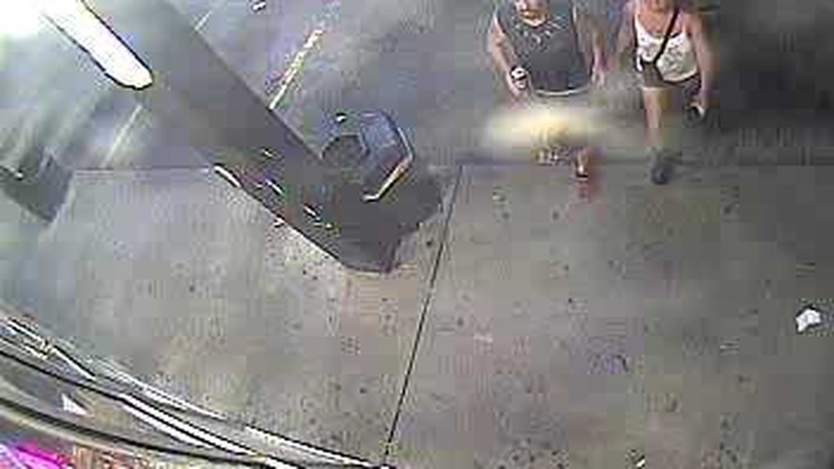 The Charleston Fire Department is asking for help in identifying two subjects in the photo.