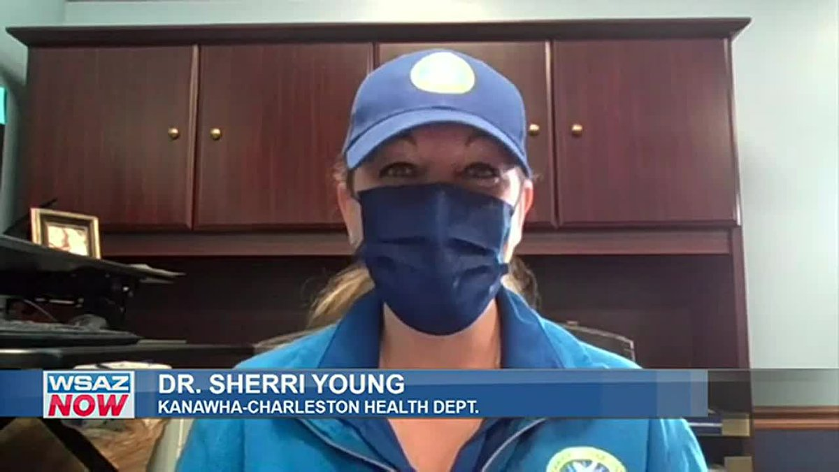 Dr. Sherri Young, from the Kanawha-Charleston Health Department, gives an update on COVID...