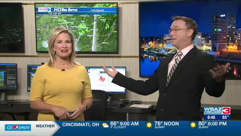 Brandon Butcher Delivers your First Warning Forecast for Tuesday, September 28th, 2021.