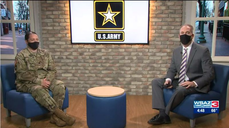 Sergeant First Class Stacy Linville shares how the Army has impacted her life and has made a...